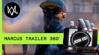 Watch Dogs 2 Trailer: Marcus 360º