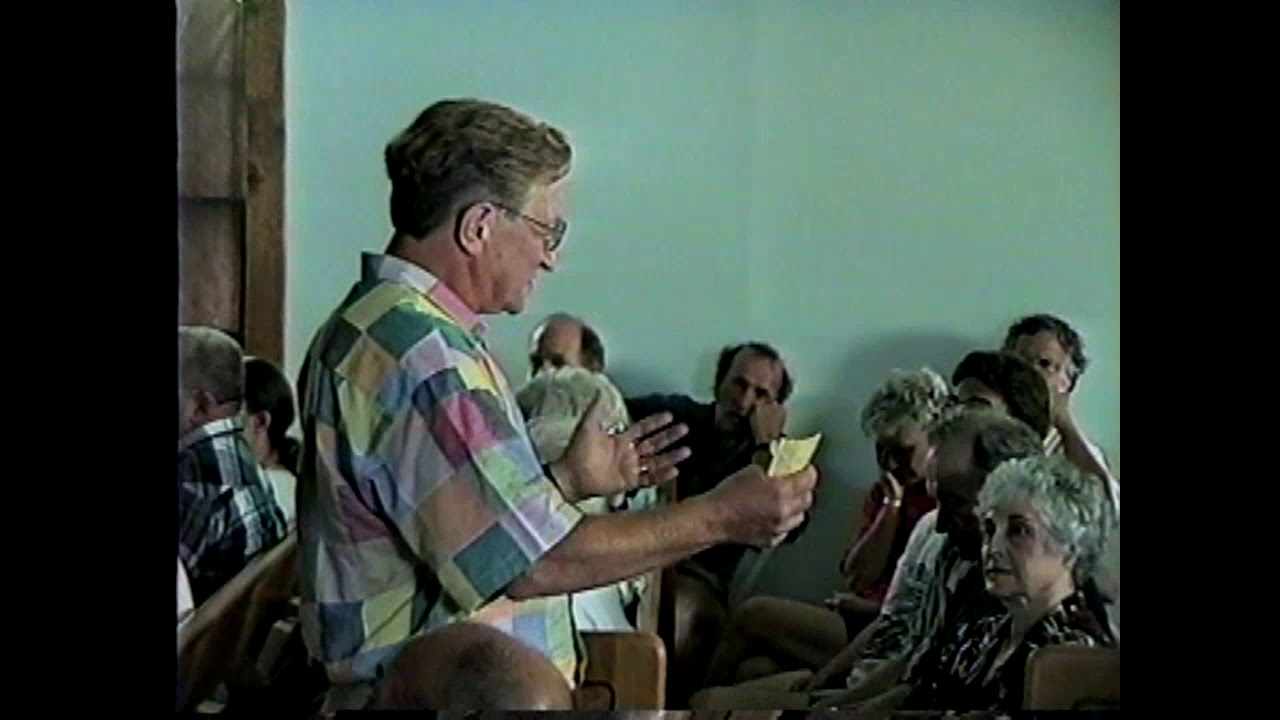 Mining History - John Morovek  7-17-99