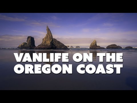 Stealth Camping On The Oregon Coast | VAN LIFE SOLO TRAVELER (Story Sixteen)