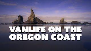 Stealth Camping On Tнe Oregon Coast | VAN LIFE SOLO TRAVELER (Story Sixteen)
