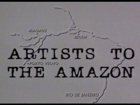 ARTISTS TO THE AMAZON 1992