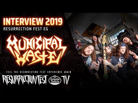 Resurrection Fest EG 2019 - Interview with Municipal Waste