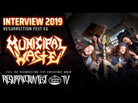 Resurrection Fest EG 2019 - Interview with Municipal Waste