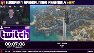 #ESA17 Speedruns - Just Cause 3 [Any%] by TRILOGY