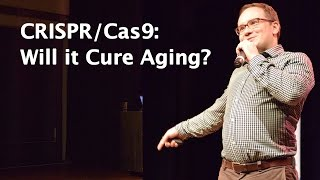 CRISPR Cas9: Will it Cure Aging? — Talk by Oliver Medvedik at D.N.A. Conference