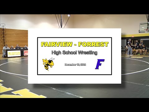 2015 12 17 SPORT FVHS Wrestling vs Forrest