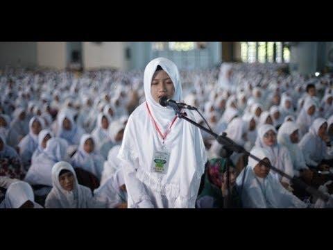 Bacaan Merdu Al Qurann Surat Al Qolam  Shafira Ursila Marsya   Halaqoh Tahfidzul Quran Jatim 2017