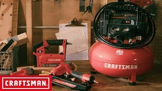 CRAFTSMAN 3 Tool and Air Compressor Combo Kit | Tool Overview