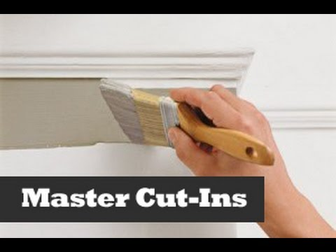 perfect ceiling cut ins. painting a straight line on a wall. how to ...