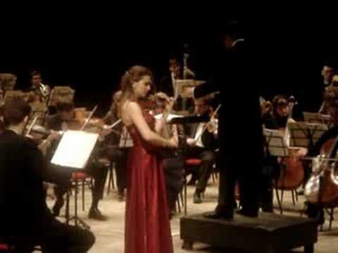 Natalia Lomeiko plays Tchaikovsky Concerto for violin and orchestra in D major op.35 3rd movement