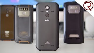 AGM A9 Rugged Smartphone Review - NFC, Snapdragon, Shockproof