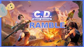 Creative Destruction Android Gameplay Ramble (Battle Royale)