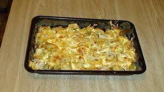 Картофель запечённый с сыром.