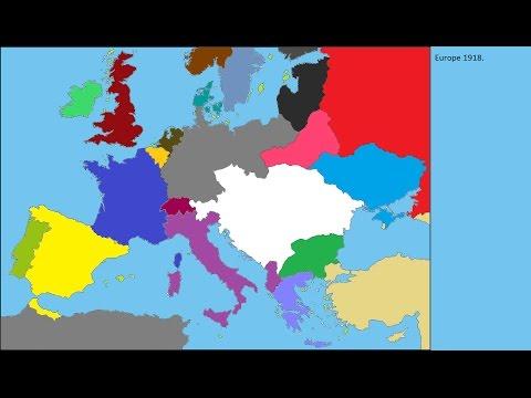 Alternate WW1 german victory treaties