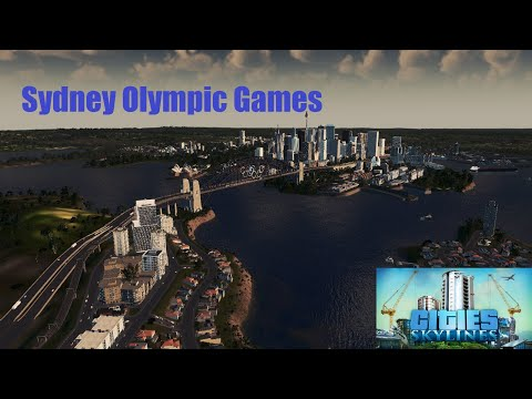 The Sydney Olympic Games reimagined in Cities Skylines  