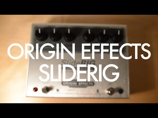 Origin Effects SlideRig lap steel demo