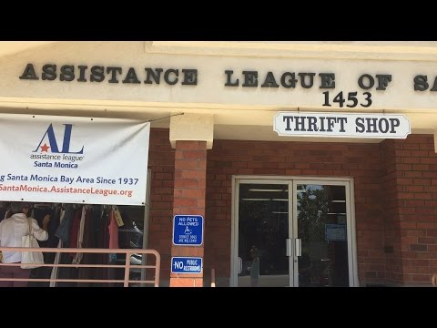 video:An Inside Look into the Assistance League Thrift Shop on 15th St.