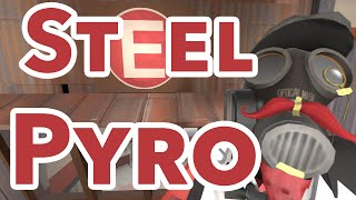 TF2 | Pub Pyro Perspective - A solid steel defense [Commentary]