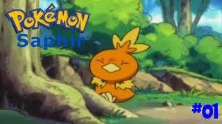 Pokémon Saphir : Episode 1 : Un bon départ !
