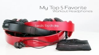 Video My Top 5 FAVORITE Workout Gym Headphones download MP3, 3GP, MP4, WEBM, AVI, FLV Juli 2018