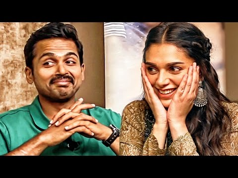 """Vaaranam Aayiram Suriya is my inspiration for Kaatru Veliyidai"" - Karthi & Aditi Rao 