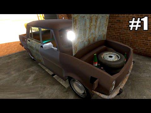 The Long Drive - NOVO JOGO DE CARRO ESTILO MY SUMMER CAR E JALOPY! #1