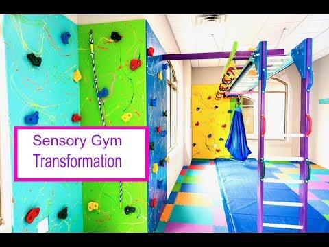 Occupational Therapy Sensory Gym Transformation