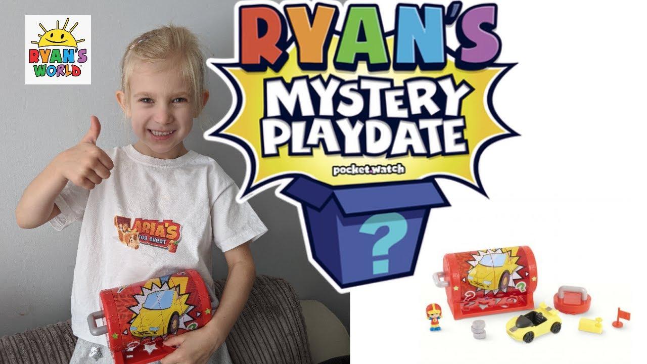 Ryan's MYSTERY playdate OPENING