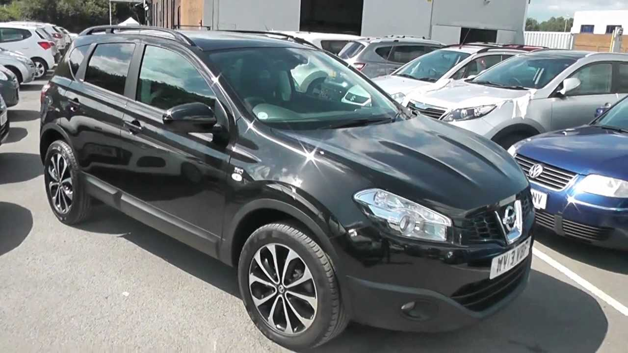 wv13vbf nissan qashqai 360 in black at wessex garages. Black Bedroom Furniture Sets. Home Design Ideas