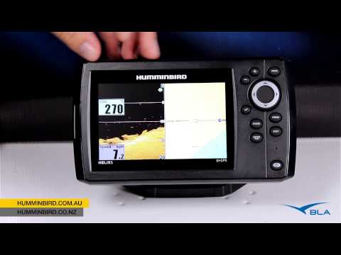 bla – humminbird – helix 5 di gps overview - youtube, Fish Finder