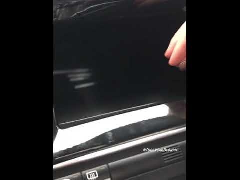Hologram Touch UI In Lykan Hypersport Supercar
