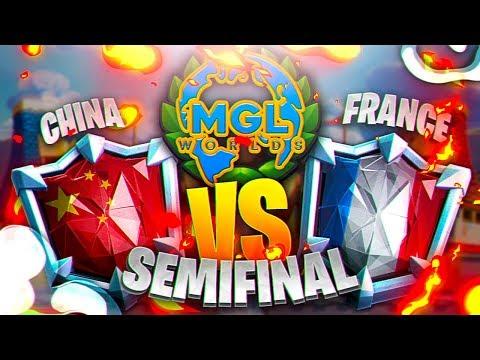 SEMIFINALS | CHINA vs FRANCE | MGL WORLDS | CLASH ROYALE