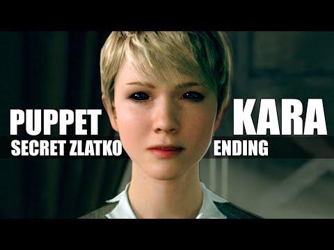"Detroit Become Human  ""What Happens When"" Kara Becomes Evil  Zlatko Secret Ending"