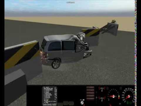 rigs of rods crash tests 1 ford svt raptor and dodge caravan youtube. Black Bedroom Furniture Sets. Home Design Ideas