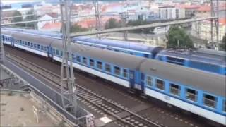 Compilation of Czech trains
