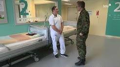 Spitalbataillon 5 im Spital Einsiedeln
