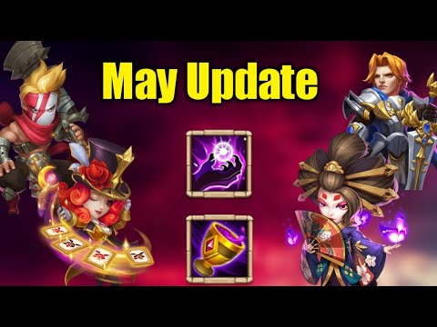 May Update 😲| Quick Detail That You Need To Know | 2 HERO | New Talent & Enhancement | Castle Clash