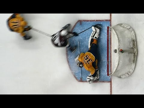 Predators' Rinne bails out Subban with ridiculous toe save