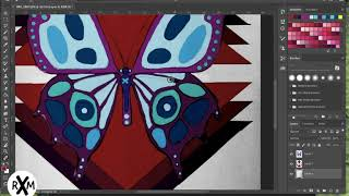 Digital Painting: Butterfly Paradox