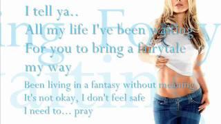 Anastacia Left Outside Alone Lyrics On The Screen