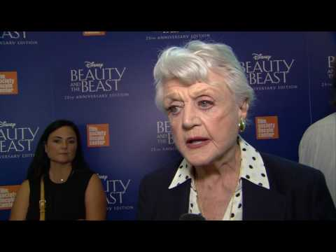 "Beauty and the Beast 25th Anniversary ""Mrs Potts"" Interview - Angela Lansbury"