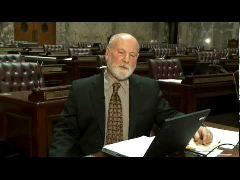 Sen. Kline talks about I-1053, warrantless searches and vulnerable citizens