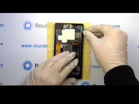 Sony Xperia Z repair, disassembly manual