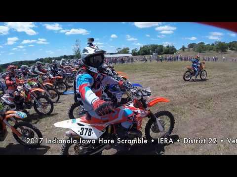 IERA District 22 - Indianola Hare Scramble - The Farm MX - 2017