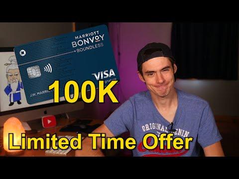 Marriott Bonvoy Boundless 100k Bonus is Back!!