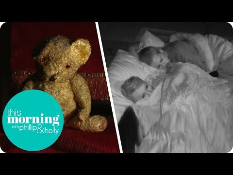 Spending a Night With a Haunted Teddy Bear! | This Morning
