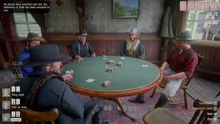 Red Dead Redemption 2 - Best poker hand ever
