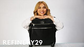 Why Hayley Kiyoko Uses A Rolling Suitcase As A Purse   Spill It   Refinery29