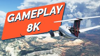 FLIGHT SIMULATOR en 8K ! Le plus BEAU JEU du MONDE ?