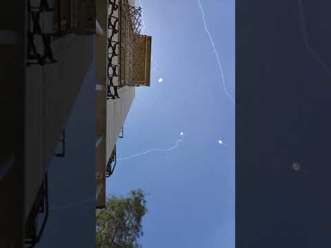 Ракетный над головой!! Обстрел Израиля!!!